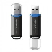 Флешка ADATA 8GB C906 USB Flash Drive (Black) AC906-8G-RBK